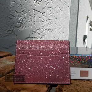 Kate spade SLIM card holder rose Pink LOLA new